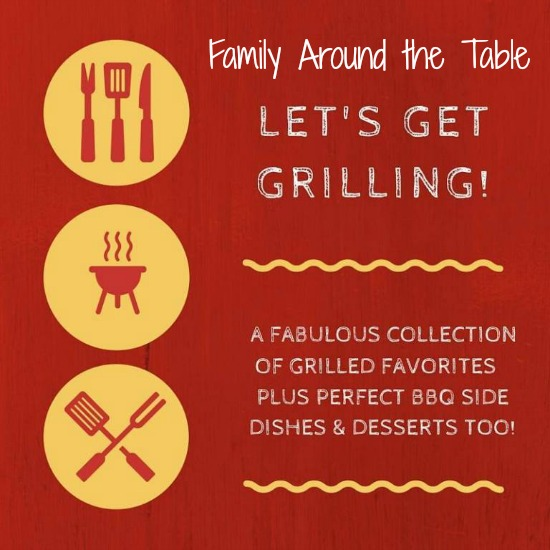 Let's get grilling! A round up of drinks, sides, main dishes and desserts.