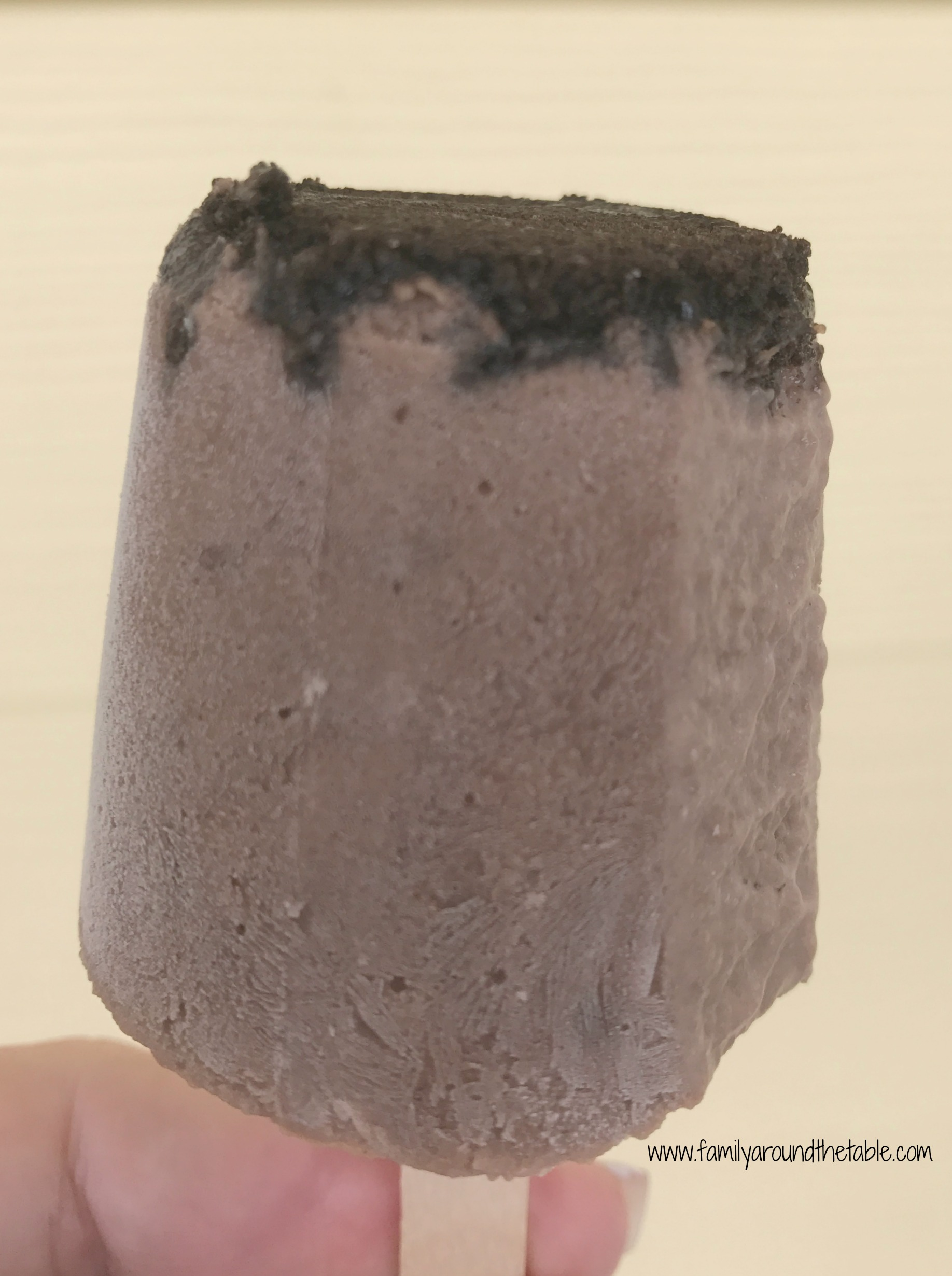 Chocolate Oreo Fudgesicle