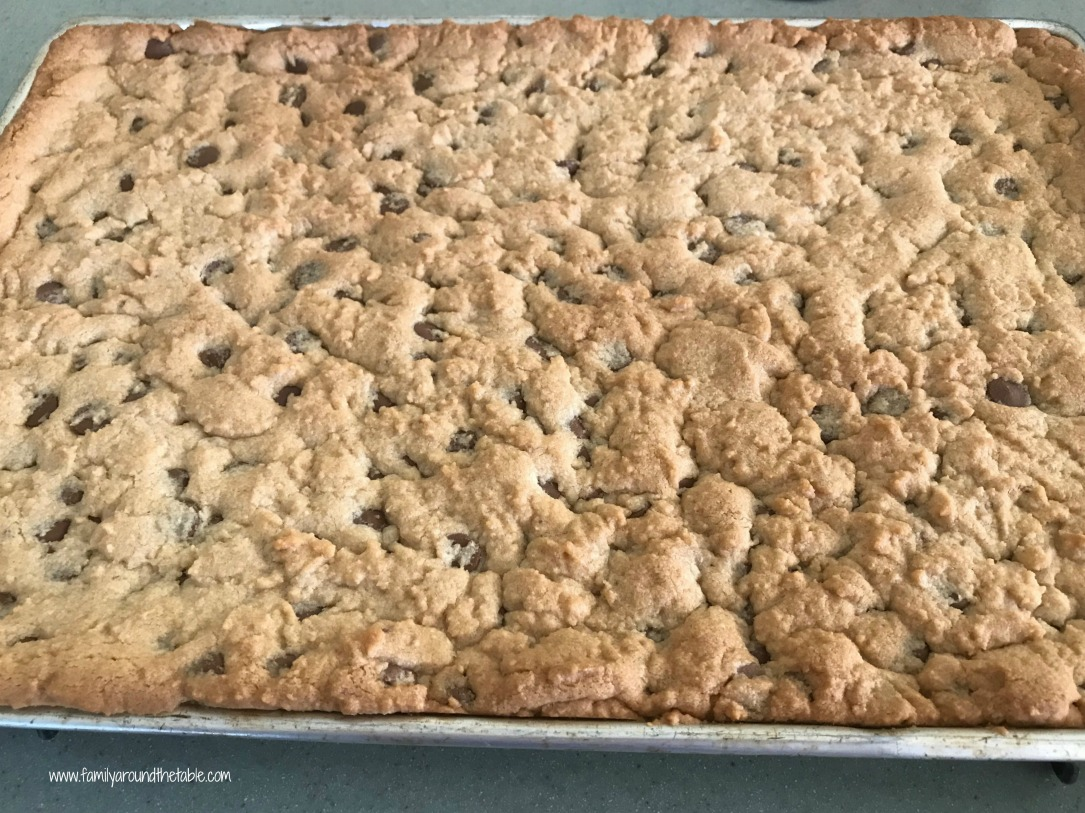 Chocolate Chip Cookie Bars can be found in my guest post at Bear & Bug East.