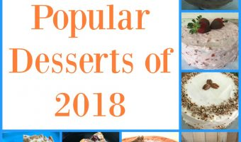 The most popular desserts of 2018.