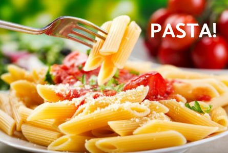 Celebrate365 with Pasta.