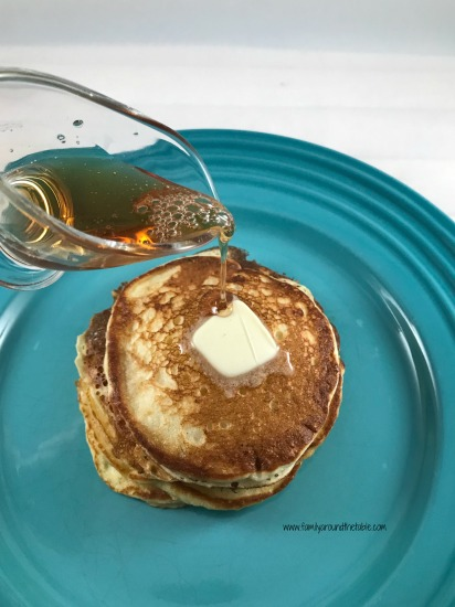 Buttermilk pancakes are a classic.