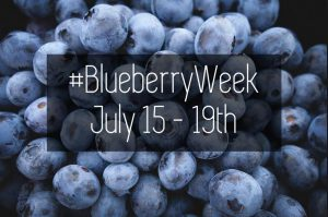Blueberry Week