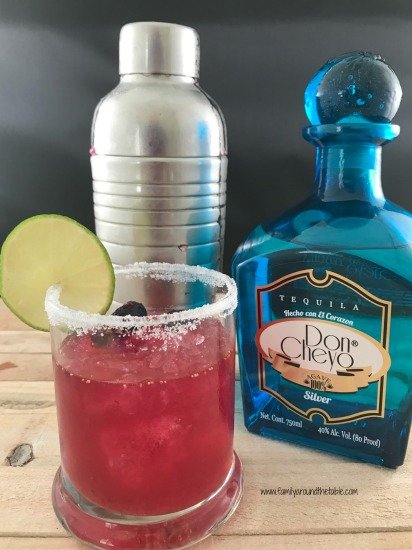 If you've never had a blueberry margarita, you must try one!