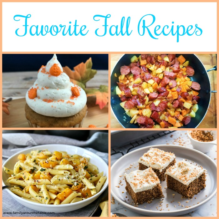 A collection of favorite fall recipes.