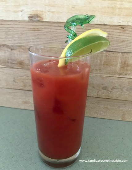 Spice up your next brunch gathering by serving a Bloody Maria cocktail instead of the traditional Bloody Mary.