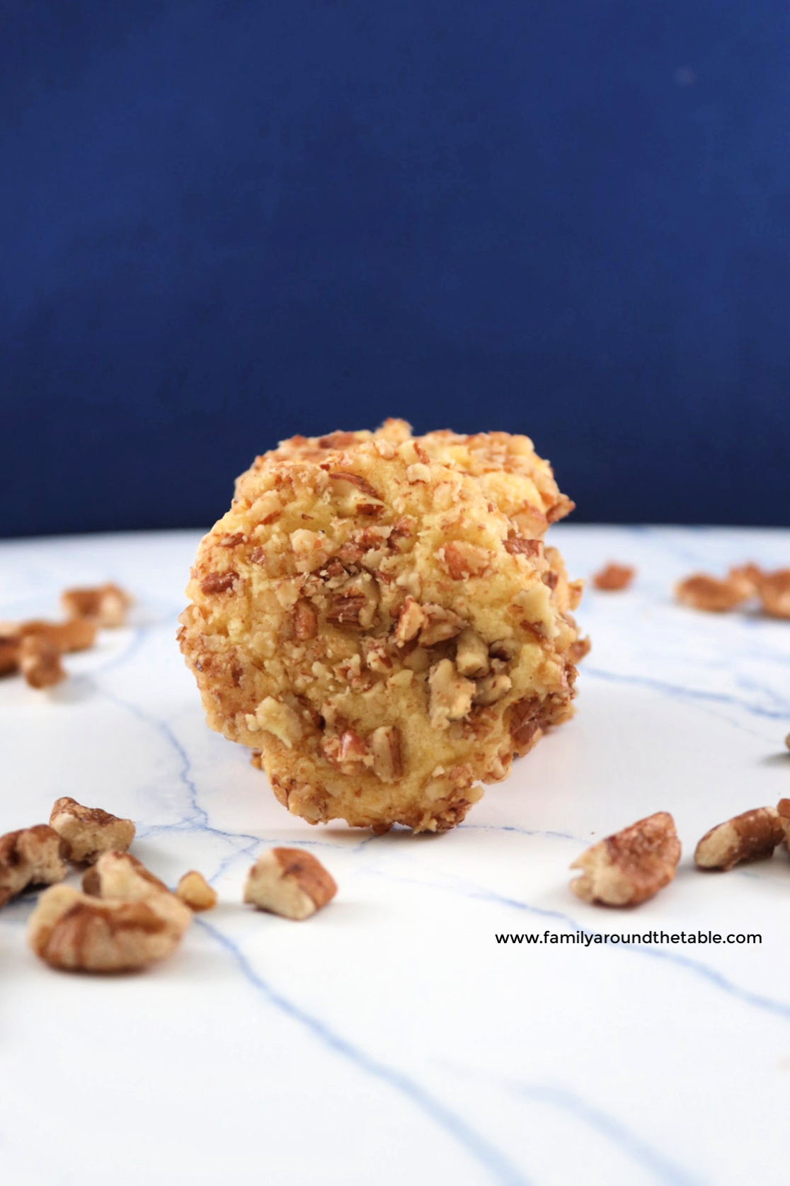 These orange pecan cookies are slightly crunchy and kissed with orange flavor.