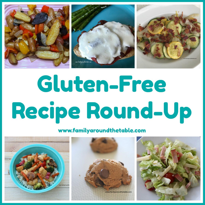 Gluten Free Recipe Round Up collage